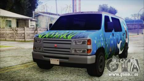 GTA 5 Bravado Paradise Shark Artwork pour GTA San Andreas