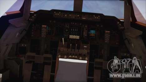 Boeing 747-237Bs Air India Emperor Ashoka für GTA San Andreas rechten Ansicht
