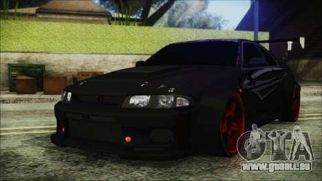 Nissan Skyline R33 Widebody v2.0 für GTA San Andreas