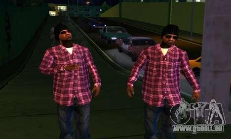 Mens Mega Pack pour GTA San Andreas huitième écran