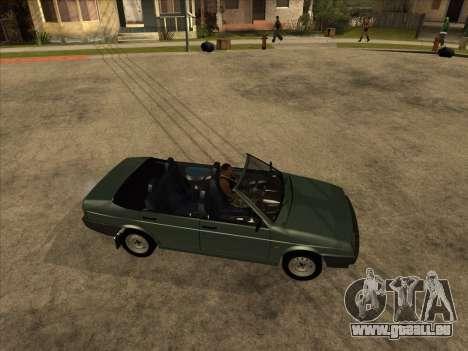 VAZ 21099 Convertible pour GTA San Andreas laissé vue