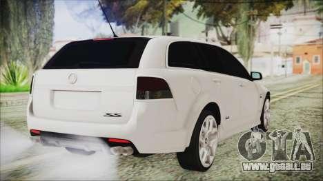 Holden Commodore VE Sportwagon 2012 pour GTA San Andreas laissé vue