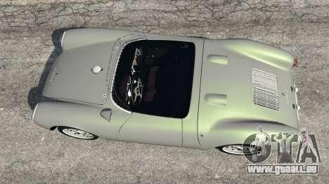 GTA 5 Porsche 550A Spyder 1956 Rückansicht