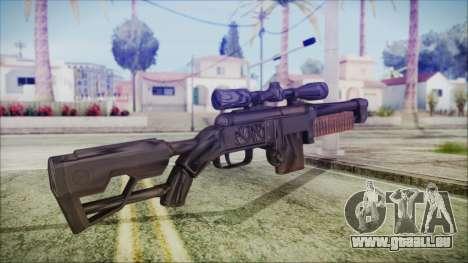 Fallout 4 Overseers Guardian für GTA San Andreas zweiten Screenshot