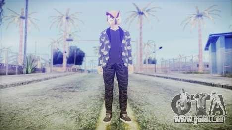 GTA Online Skin 58 für GTA San Andreas zweiten Screenshot