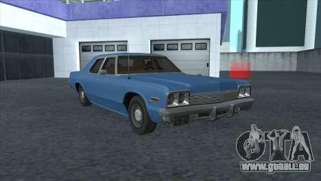 Dodge Monaco V8 7.2L 1974 pour GTA San Andreas