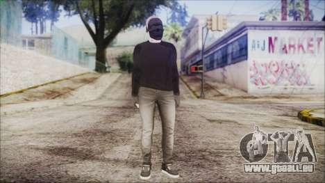 GTA Online Skin 53 pour GTA San Andreas deuxième écran