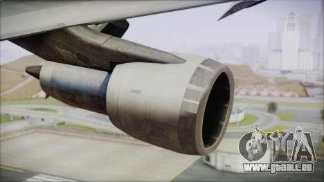 Boeing 747-100 Blue pour GTA San Andreas vue de droite