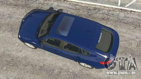 GTA 5 BMW X6 M (E71) v1.5 Rückansicht