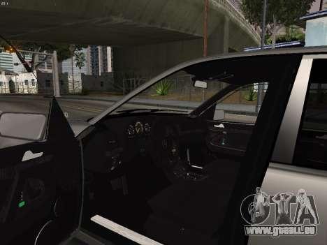Mercedes-Benz E420 für GTA San Andreas Rückansicht