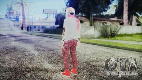 GTA Online Skin 54 pour GTA San Andreas troisième écran
