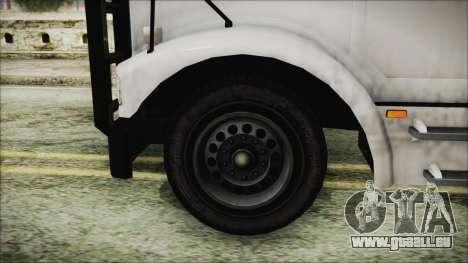 Indonesian Benson Truck Not In Real Life Version pour GTA San Andreas sur la vue arrière gauche