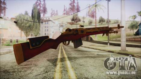 Xmas M14 pour GTA San Andreas deuxième écran