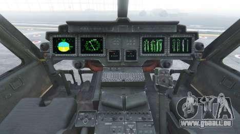 GTA 5 Bell UH-1Y Venom v1.1 cinquième capture d'écran