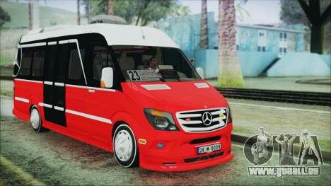 Mercedes-Benz Sprinter 26 M 0009 pour GTA San Andreas