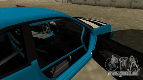 Nissan Skyline R34 Drift für GTA San Andreas Rückansicht