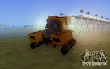 GTA 5 Kraken v1 pour GTA San Andreas laissé vue