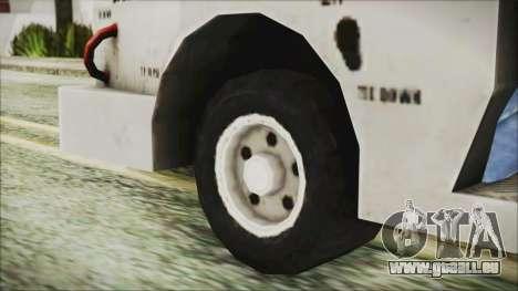 BF3 Push Car für GTA San Andreas zurück linke Ansicht