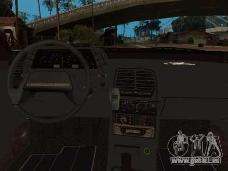VAZ 2110 DPS für GTA San Andreas Unteransicht