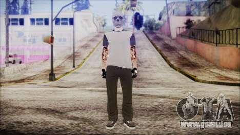 GTA Online Skin 51 pour GTA San Andreas deuxième écran