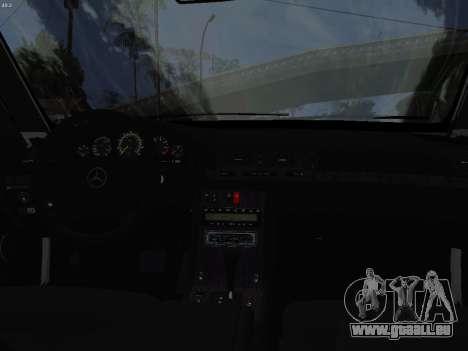 Mercedes-Benz E420 für GTA San Andreas Innenansicht