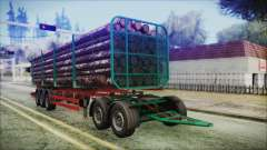 Iveco EuroTech Forest Trailer pour GTA San Andreas