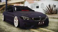 BMW M4 Stance 2014
