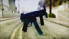 MP5K Black Blue Abstract