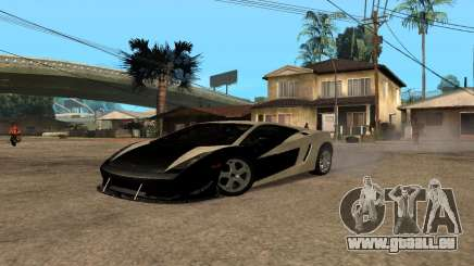 Lamborghini Gallardo Tunable v2 pour GTA San Andreas