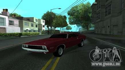Dodge Challenger Tunable pour GTA San Andreas