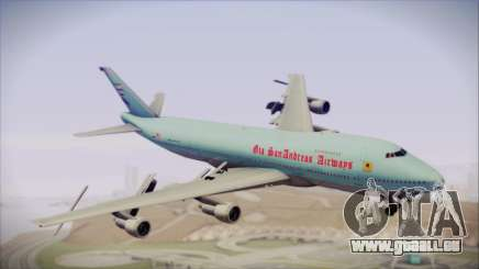 Boeing 747-100 Blue für GTA San Andreas
