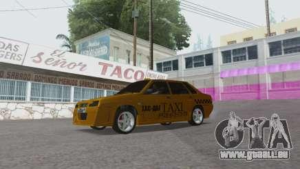 VAZ 21099 Tuning Russian Taxi für GTA San Andreas