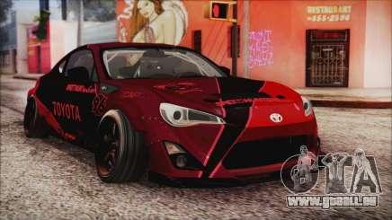 Toyota GT86 Speedhunters für GTA San Andreas