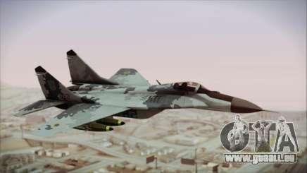 MIG-29 Fulcrum Ukrainian Falcons pour GTA San Andreas