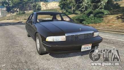 Chevrolet Caprice 1991 v1.2 für GTA 5
