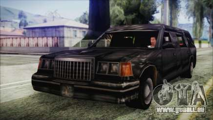The Romeros Hearse für GTA San Andreas