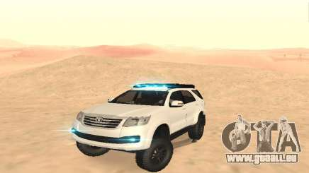 Toyota Fortuner 4RM 2015 Rustica pour GTA San Andreas