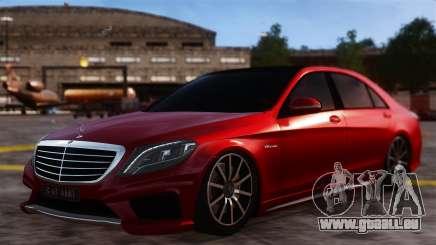 Mercedes-Benz S63 W222 AMG für GTA 4