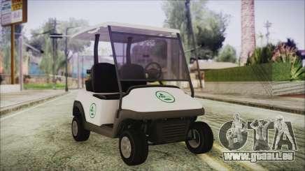 GTA 5 Golf Caddy pour GTA San Andreas