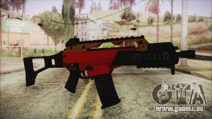 Xmas G36C für GTA San Andreas