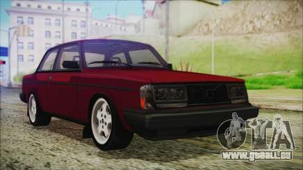 Volvo Turbo 242 Evolution Turbo 1983 pour GTA San Andreas