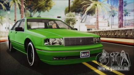 GTA 5 Albany Primo Custom No Interior IVF pour GTA San Andreas