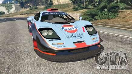 McLaren F1 GTR Longtail [Gulf] für GTA 5