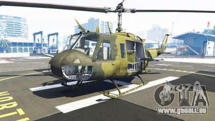 Bell UH-1D Huey Bundeswehr für GTA 5
