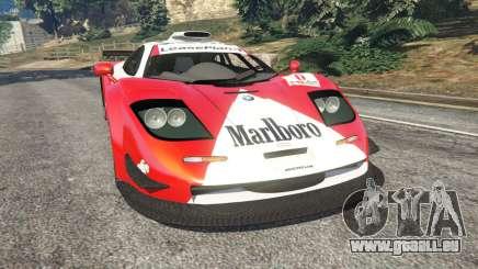 McLaren F1 GTR Longtail [Marlboro] für GTA 5