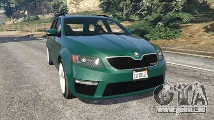 Skoda Octavia VRS 2014 [estate] pour GTA 5