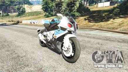 BMW HP4 pour GTA 5
