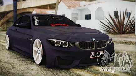 BMW M4 Stance 2014 für GTA San Andreas