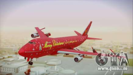 Boeing 747-100 Merry Christmas pour GTA San Andreas