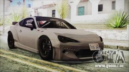 Toyota GT86 Rocket Bunny Tunable HQLM für GTA San Andreas